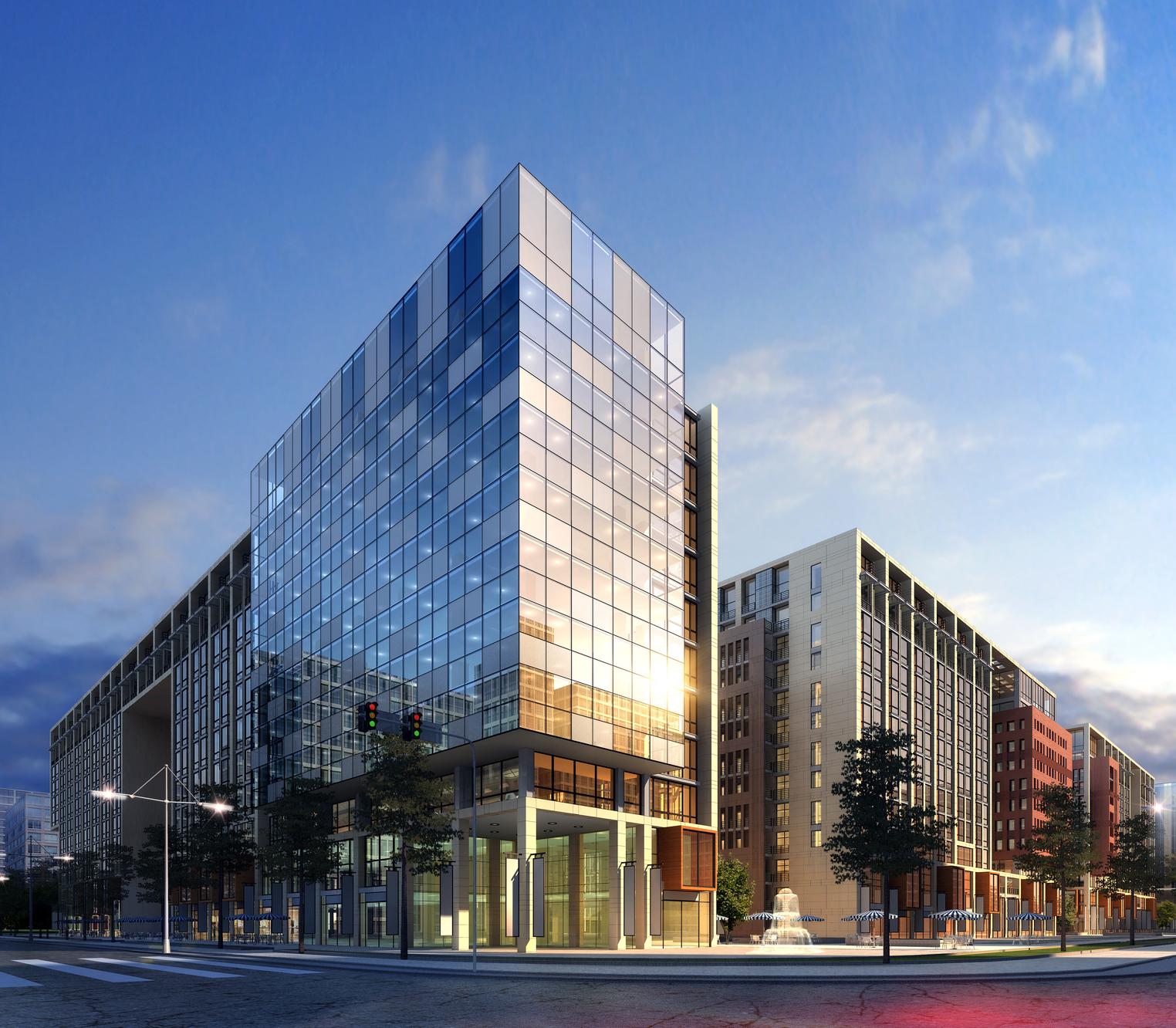 3d Business Buildings